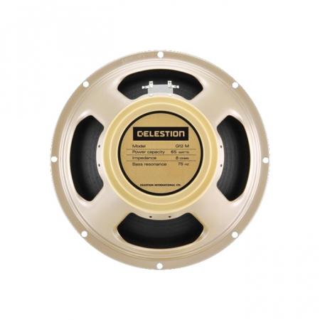 Der G12M-65 Creamback liefert den so bekannten G12M woody ton und passt mit seinen 65 Watt Belastbarkeit perfekt für Amps mit höherer Leistung.