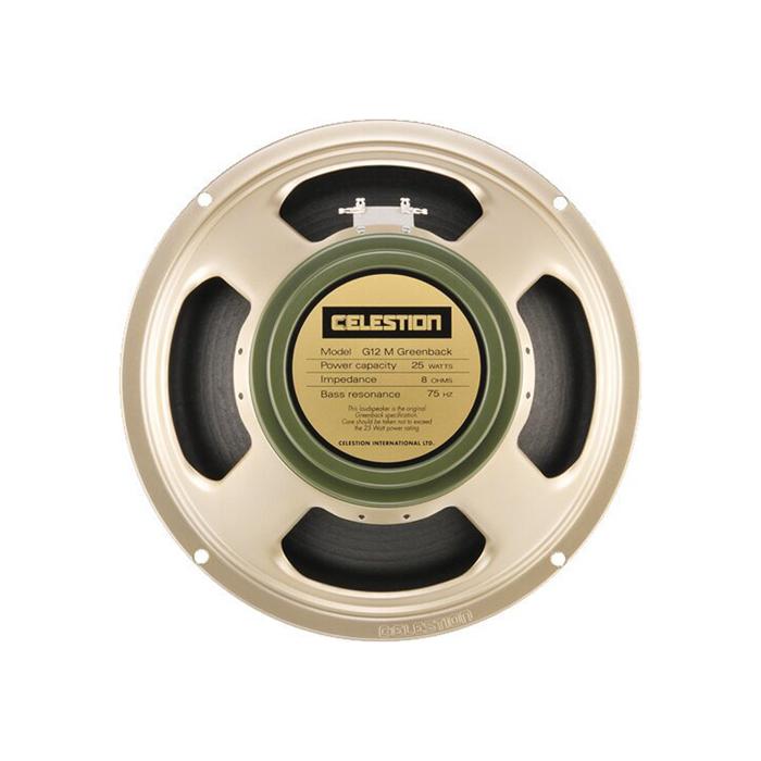 Der Celestion G12M Greenback ist wohl der bekannsteste Gitarrenlautsprecher überhaupt - dieser Speaker hat Massstaebe gesetzt.